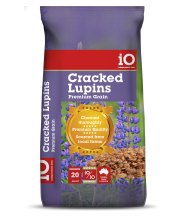 Cracked Lupins 20kg bag